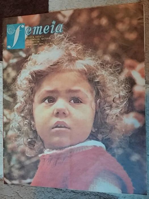 revista femeia iunie 1988 foto mare