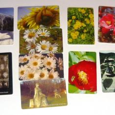 MOKAZIE! Lot / Set 10 cartele telefonice - 2+1 gratis pt produse la pret fix - MOK227 - lot colectie