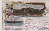 CP TURNU SEVERIN ,LICEUL TRAIAN,VAPORUL PRINCIPELE CAROL, CIRCULATA 17.01.1901