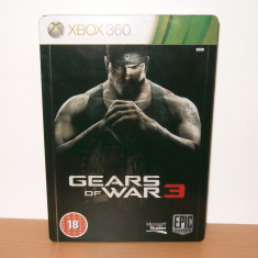 Joc Xbox 360 / Xbox One  - Gears of War 3 Steelbook Edition , de colectie