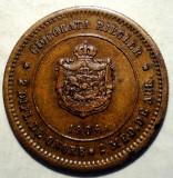 R.229 ROMANIA JETON / MEDALIE CAROL I CIOCOLATA RIEGLER BUCURESTI 1906 21mm