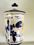 Cumpara ieftin Vas ceramica semnata pentru ceai
