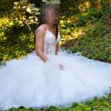 Rochie de mireasa Fashion Princes model 2017marimea 36-38, Rochii de mireasa printesa