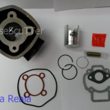 Kit Cilindru / Set Motor + Piston + Segmenti Scuter Aprilia SR Funmaster  / SR Racing  / SR Sport  / SR Street ( 5 colturi / 49cc - 50cc - racire apa