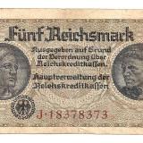 LL bancnota Germania Nazista 5 marci
