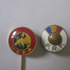 INSIGNE UEFA SI F.R.F. - Insigna fotbal