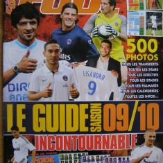 Revista Super Foot mag 2009 postere Ronaldo si Ribery