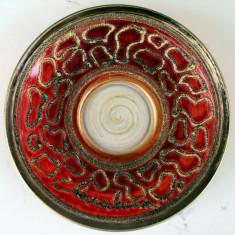 Bol cu farfurioara sticla Murano