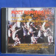 MEET ROMANIA - FAMOUS FOLK SONGS FROM MUNTENIA AND OLTENIA COUNTIES (1 CD) - Muzica Populara electrecord