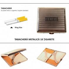 Cartel - tabachera metalica pentru 18 tigarete