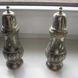 Servici de condimente vechi in stil Baroc din crom