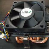 Cooler AMD Box 4 heatpipes m7 754, 939, AM2, Am3, Am3+ 4 heat-pipes din cupru