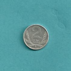 POLONIA 2 ZLOTI ZLOTYCH 1989 [1] XF, livrare in cartonas, Europa, Aluminiu