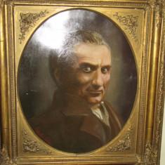 ULEI PANZA VECHI SEMNAT PORTRETUL LUI TONITZA rama deosebita datat 1923