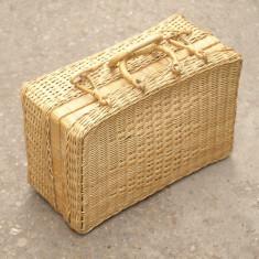 Valiza impletita - Geanta handmade