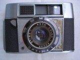 Aparat foto de colectie Agfa Optima 1+toc piele, RF (Rangefinder), Mic