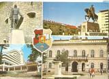"CPI (B4239) CLUJ-NAPOCA. STATUIA LUI BABA NOVAC, MIHAI VITEAZUL, HOTEL ""BELVEDERE"", EDITURA OSETCM, CIRCULATA, 1985, STAMPILE, TIMBRU IMPRIMAT, Fotografie"