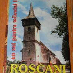 NARCISA ALEXANDRA STIUCA (COORD) - ROSCANI, UN SAT PENTRU MILENIUL III. MONOGRAFIE ETNOLOGICA. hunedoara - Carte folclor