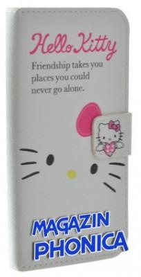 Husa toc Hello Kitty Samsung Galaxy S4 i9500 i9505 + folie ecran foto
