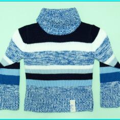 FRUMOS, IMPECABIL _ Pulover fetite, marca X-MAIL _ fete | 5 - 6 ani | 116 cm, Marime: Alta, Culoare: Albastru