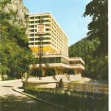 CPI (B4291) BAILE HERCULANE. HOTEL ROMAN, EDITURA SPORT-TURISM, CIRCULATA, 1986, STAMPILA, TIMBRU