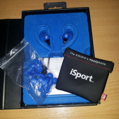 Casti Monster Beats isport Monster Beats by Dr. Dre, Casti In Ear, Cu fir, Mufa 3, 5mm, Active Noise Cancelling