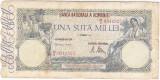 Bancnota UNA SUTA MII 100.000 lei 21 octombrie 1946