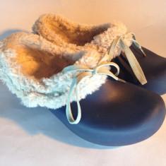 PAPUCI CROCS 34 - Papuci dama Crocs, Culoare: Albastru, Albastru