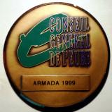 5.013 MEDALIE FRANTA CONSEIL GENERAL DE L'EURE ARMADA 1999 BRONZ
