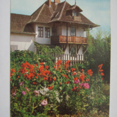 Carte  postala (Vedere )  - CAMPINA - Casa  memoriala N. Grigorescu