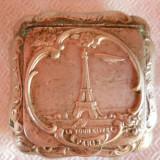 Pudriera Paris veche 1900 executata manual Superba vintage mignona RARA colectie