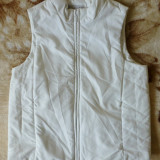 Vesta Cibyll Jeans; marime 34/36: 48.5 cm bust, 53.5 cm lungime; impecabila