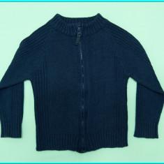 Jacheta—jerseu baietei, bumbac, bleumarin, TEX → baieti | 2—3 ani | 92—98 cm