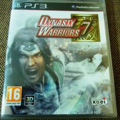 Joc Dynasty Warriors 7, PS3, original si sigilat, alte sute de jocuri! - Jocuri PS3 Altele, Actiune, 16+, Single player
