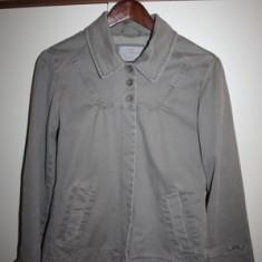 Geaca jacheta trench vitange primavara toamna Mavi Jeans mar.S - Geaca dama, Marime: S, Culoare: Khaki, Khaki, Bumbac