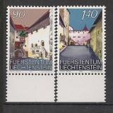 Liechtenstein.1987 Cetatea Vaduz  RN.513