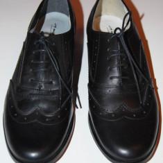 Pantofi dama Lavorazione Artigiana - Pantof dama, Culoare: Negru, Marime: 37, Negru