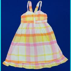 DE FIRMA _ Rochie / rochita de vara, bumbac, H&M _ fetite | 3 - 4 ani | 104 cm, Marime: Alta, Culoare: Roz