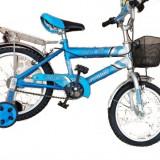 Bicicleta bmx copii Alex Power(12') (oferta saptamana asta) - Bicicleta copii, Albastru, Numar viteze: 1, Ajutatoare