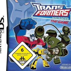JOC NINTENDO DS TRANSFORMERS ANIMATED THE GAME ORIGINAL / STOC REAL / by DARK WADDER, Actiune, 12+, Single player, Activision