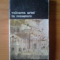 P Alexandru Marcu - Valoarea artei in renastere