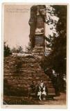 481 - Arges, CURTEA de ARGES, ruinele Sf. Nicoara - old postcard - used, Necirculata, Printata