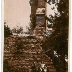 481 - Arges, CURTEA de ARGES, ruinele Sf. Nicoara - old postcard - used - Carte Postala Muntenia dupa 1918, Necirculata, Printata