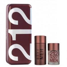 Carolina Herrera 212 Sexy Men Set 100+100 pentru barbati - Set parfum