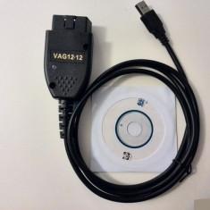 Interfata, diagnoza auto VAG COM VCDS 12.12 FULL ACTIVAT Ruleaza si in Romana