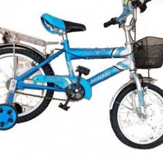 Bicicleta bmx copii Alex Power(16') - Bicicleta copii, Albastru, Numar viteze: 1, Ajutatoare