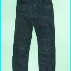 Pantaloni din catifea fina, talie reglabila, H&M → fetite | 5—6 ani | 116 cm