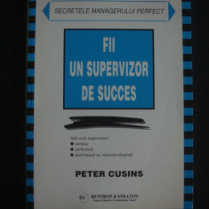 PETER CUSINS - FII UN SUPERVIZOR DE SUCCES {1999} - Carte Marketing