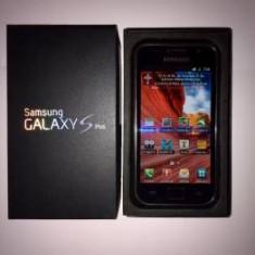 Vand Samsung Galaxy S Plus - Telefon mobil Samsung Galaxy S Plus, Negru, 8GB, Neblocat