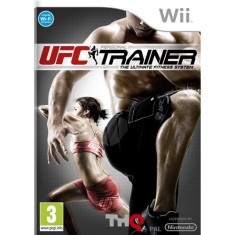 JOC WII UFC PERSONAL TRAINER ORIGINAL PAL / STOC REAL / by DARK WADDER - Jocuri WII Thq, Sporturi, 12+, Multiplayer